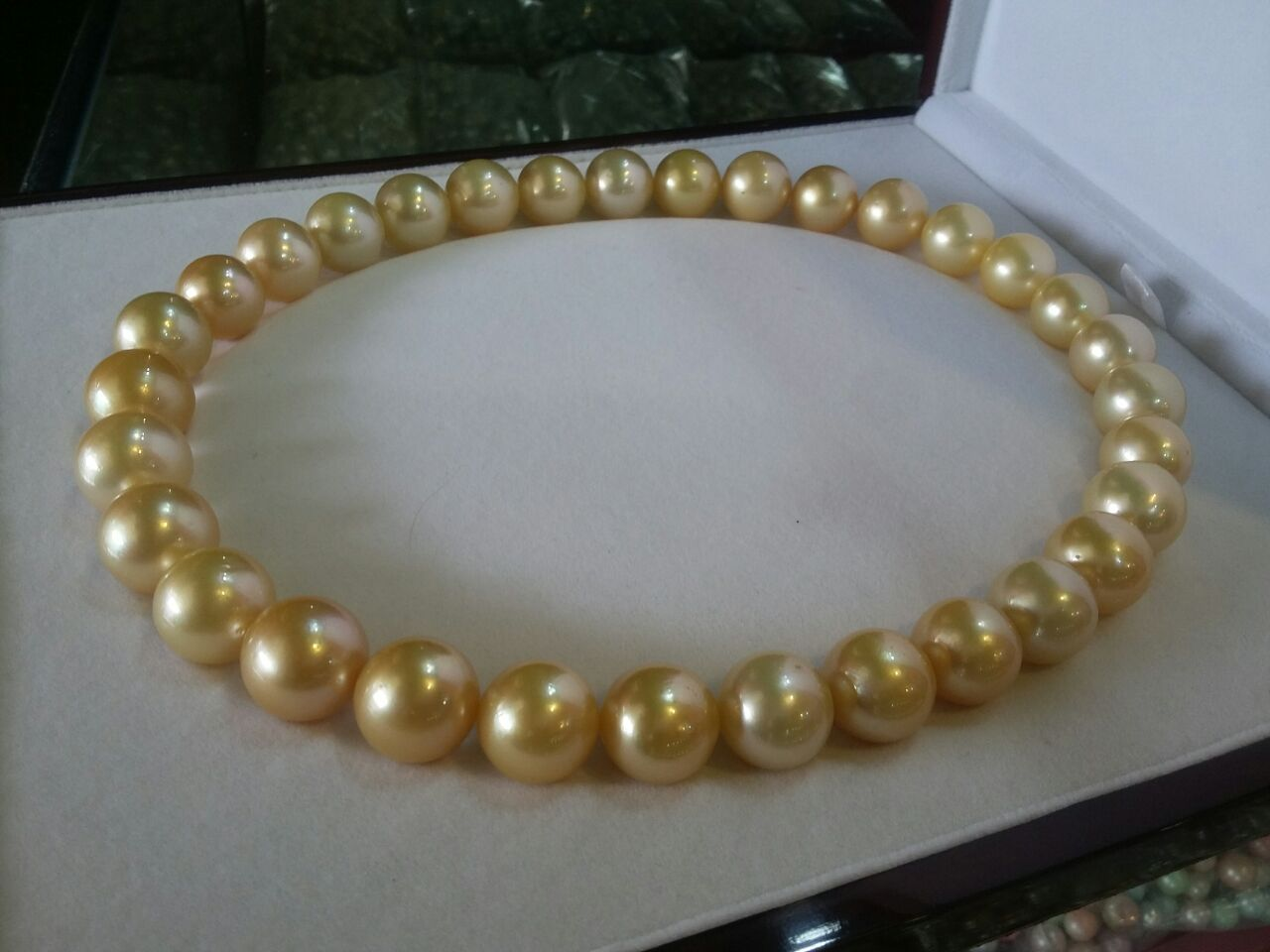 pearl original necklace box vintage authentic check myriad w pearls mikimoto woriginal